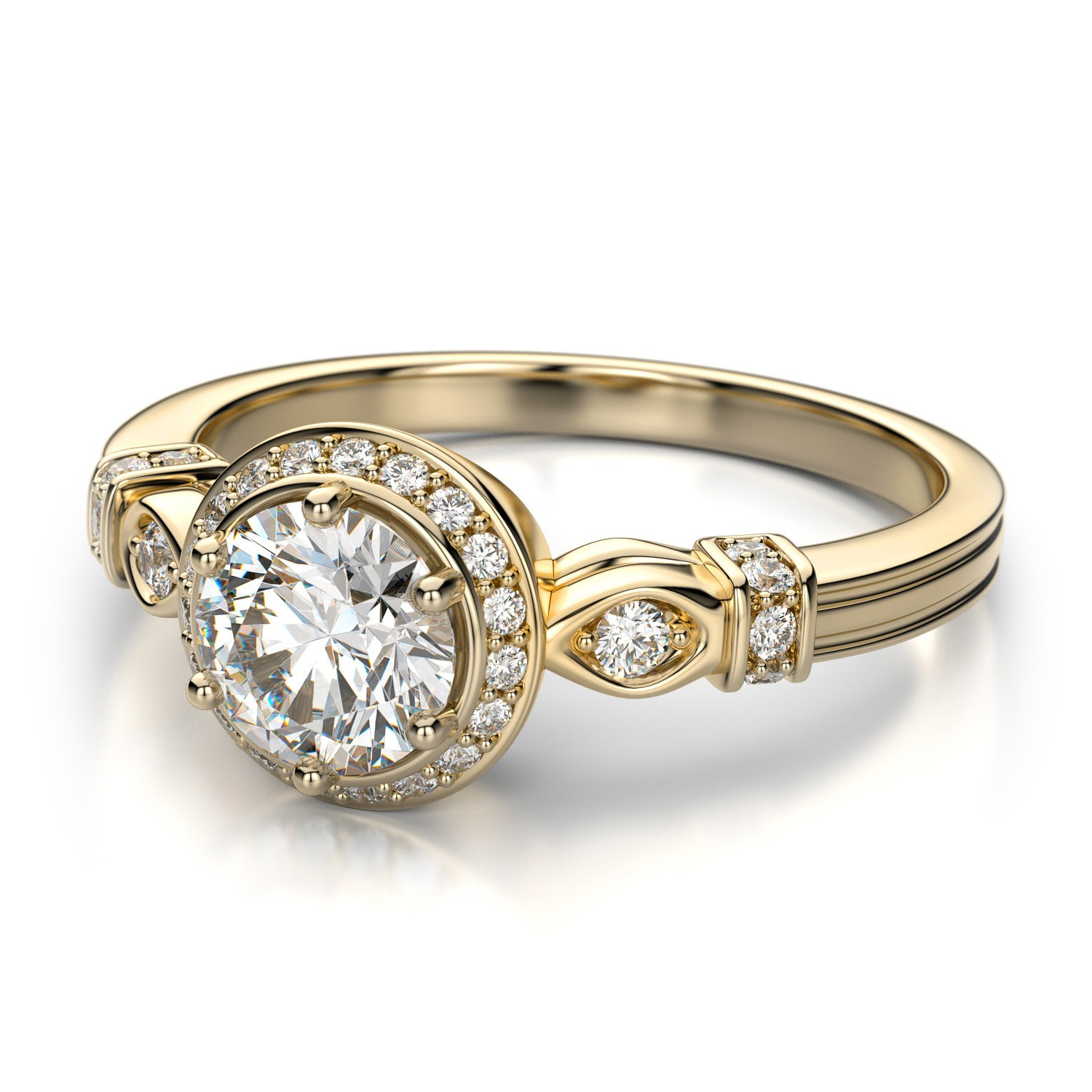 Buy online ANTIQUE ENGAGEMENT RINGS – Pretty Jewelry – Exquisite