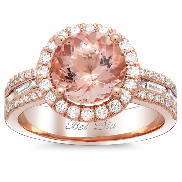 Best Rose Gold Engagement Rings Photo 1